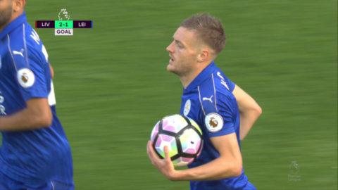 Mål: Leicester reducerar efter Leivas tabbe (2-1)