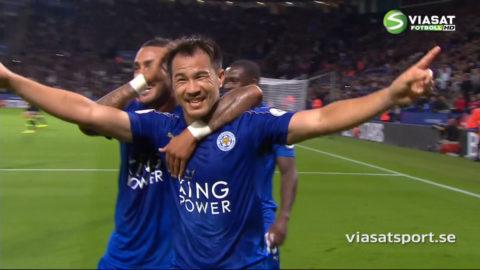 Mål: Leicester utökar - Okazaki tvåmålsskytt (2-0)