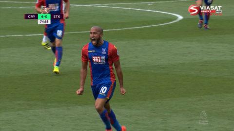 Mål: Målfesten fortsätter på Selhurst Park - Townsend nätar (4-0)