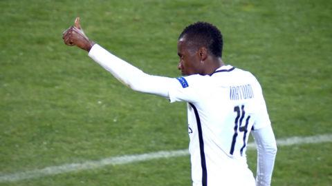 Mål: Matuidi kvitterar för PSG i mötet med Ludogorets (1-1)