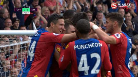 Mål: McArthur trycker in trean för Palace (3-0)