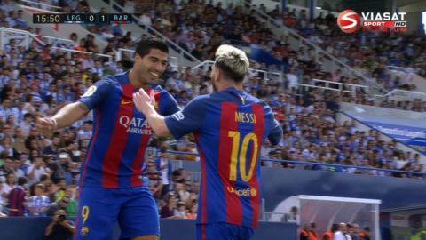 Mål: Messi spräcker nollan för Barça (0-1)