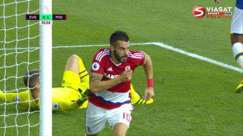 Mål: Middlesbrough tar ledningen - efter tveksamt mål (0-1)