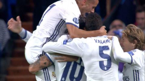 Mål: Morata avgör för Real Madrid på tillägstid (2-1)