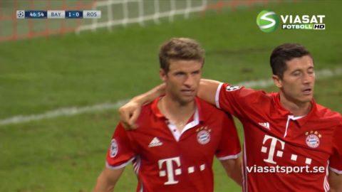 Mål: Müller utökar ledningen (2-0)