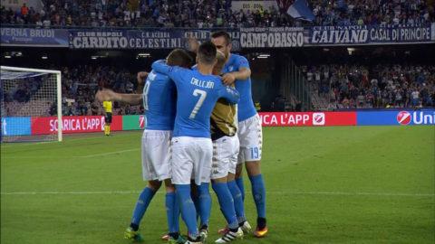 Mål: Napoli utökar - Mertens nätar på frispark (2-0)
