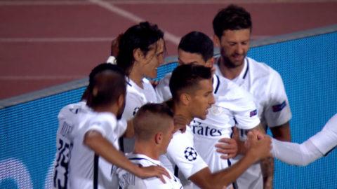 Mål: PSG tar ledningen efter självmål av Moti (1-2)