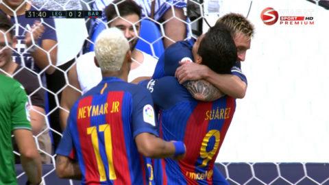 Mål: Suarez nätar efter Leganes försvarsmiss (0-2)