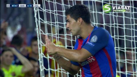 Mål: Suarez tvåmålsskytt på Camp Nou (7-0)
