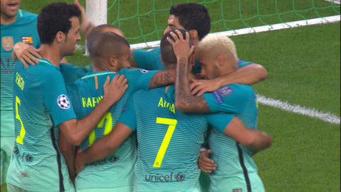 Mål: Turan kvitterar för Barcelona (1-1)