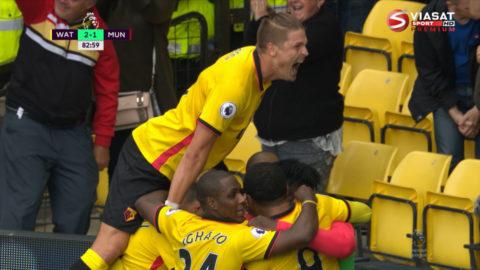Mål: Watford tar ledningen på nytt - Zuniga nätar (2-1)