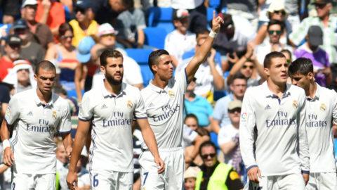 Målsuccé i Ronaldos comeback