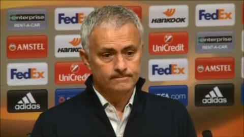 "Mourinho besviken på spelschemat: ""Svår situation"""