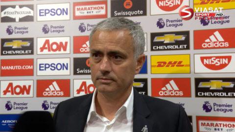 """Mourinho: """"Ibra var fenomenal"""""""