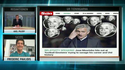 """Mourinho slår tillbaka: """"Massa Einsteins vill radera allt"""""""
