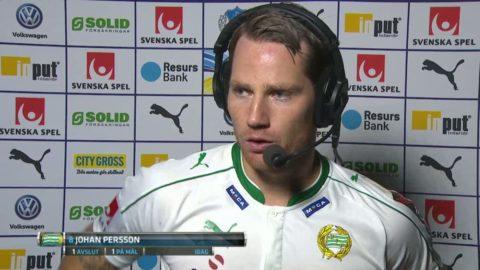 """Persson: """"Vi fick dem dit vi ville"""""""