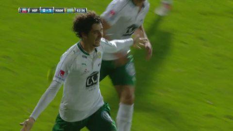 Romulo gör 1-0 för Hammarby