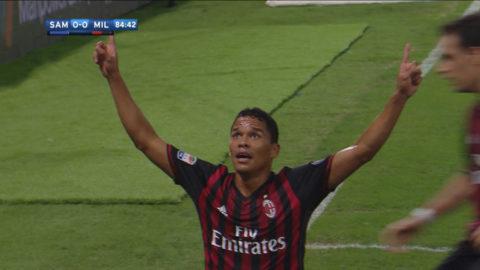 Såg ut att gå mot oavgjort - då frälste Bacca Milan