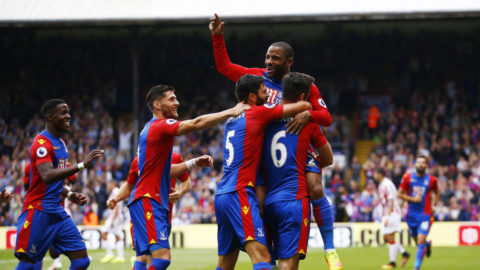 Säker hemmavinst för Crystal Palace mot Stoke