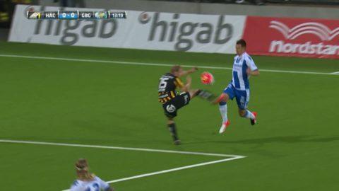 Salomonsson dundrar in 1-0 på straff