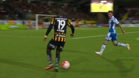 Sammandrag: Händelserikt derby mellan IFK Göteborg och Häcken