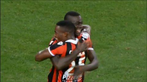 Se Balotellis två mål i Nice-debuten mot Marseille