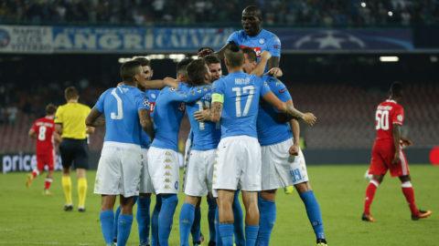 Sju magiska Napoli-minuter sänkte Benfica