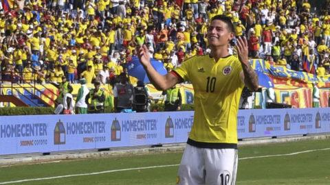 Stjärnan visade vägen för Colombia