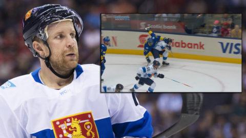 """Svensk ilska efter Komarovs tackling: """"Matchstraff"""""""