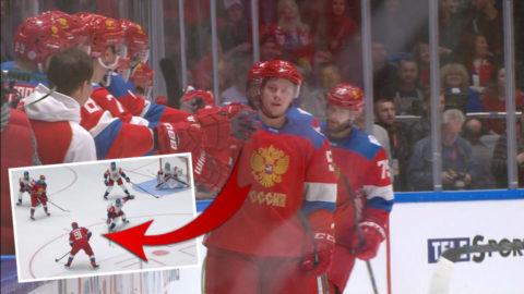 """Tarasenko stal showen när Ryssland slog Tjeckien: """"Wow"""""""