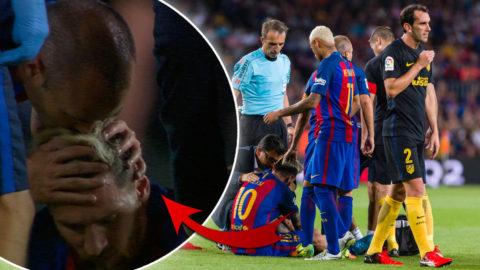 Tungt skadebesked för Messi och Barcelona
