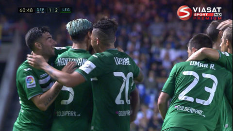TV: Deportivo föll trots Borges fullträff