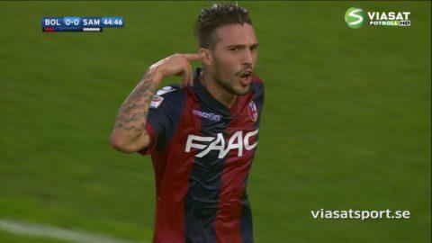 TV: Drömmål och utvisningar när Bologna slog Sampdoria