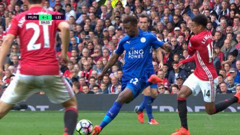 TV: Leicesters talang reducerar med drömmål