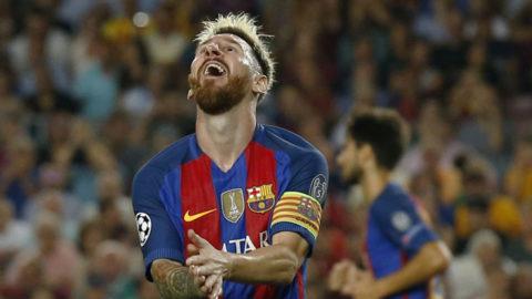 TV: Lionel Messi fullbordar sitt hattrick