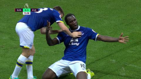 TV: Lukaku fullbordar sitt hattrick
