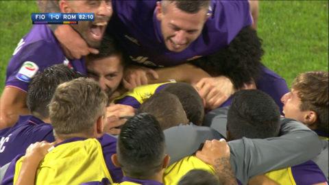 TV: Oväntad segerskytt när Fiorentina besegrade Roma