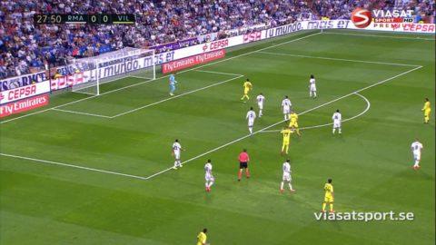 TV: Reals segersvit bröts mot Villarreal