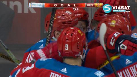 TV: Ryssland nära semifinal efter drömmål