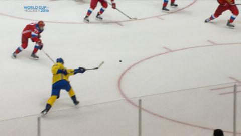 Två svenska mål på två minuter