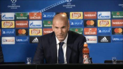 """Zidane besviken efter CL-mötet: """"Jag är tom"""""""