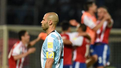 Argentina förlorade utan Messi