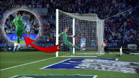 Barça-keepern bjöd på jätteblunder i vilda kvitteringsjakten