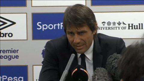 """Conte: """"Måste fortsätta på den inslagna vägen"""""""