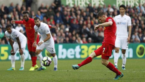 Dominant Liverpool tog tre poäng mot Swansea