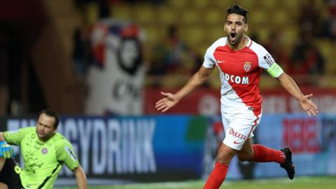 Falcao tillbaka som målskytt - Monaco närmade sig Nice
