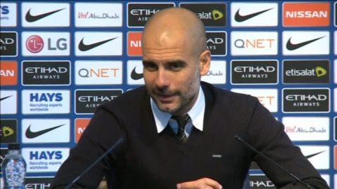 """Fem raka utan seger oroar inte Pep: """"En del av fotbollen"""""""