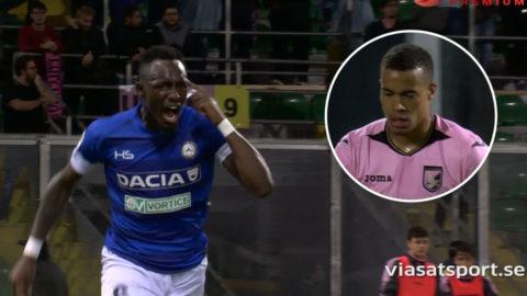 Fofanas sköna träff sänkte Palermo - svensklagets femte raka hemmaförlust