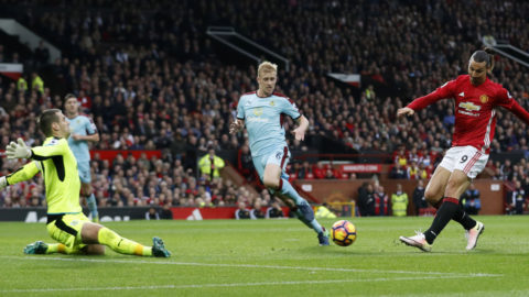 Forne United-målvakten stoppade Zlatan