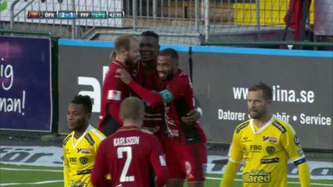 Gero gör sitt första mål för Östersund